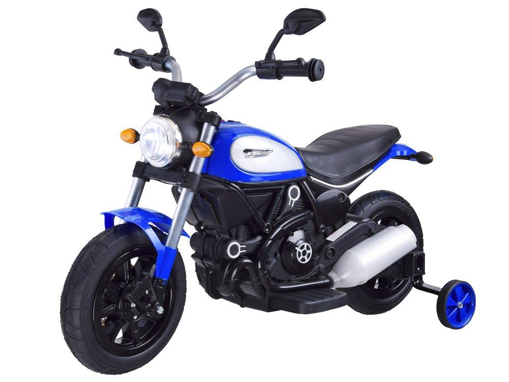 Joko PA0235 NI Elektrická motorka Street Bob modrá