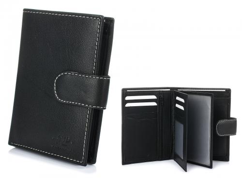 Alessandro Paoli K47 Pánska kožená peňaženka čierna