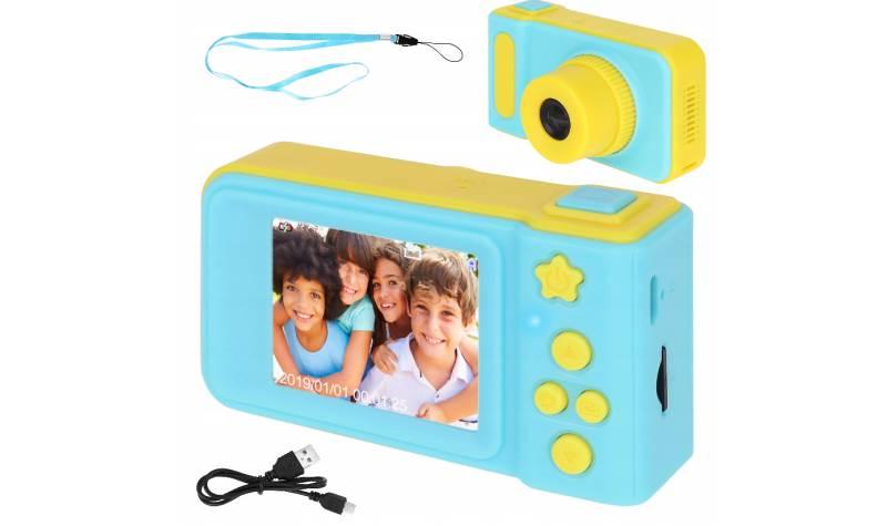 ISO 8941 Detský digitálny fotoaparát 2GB modro žltá