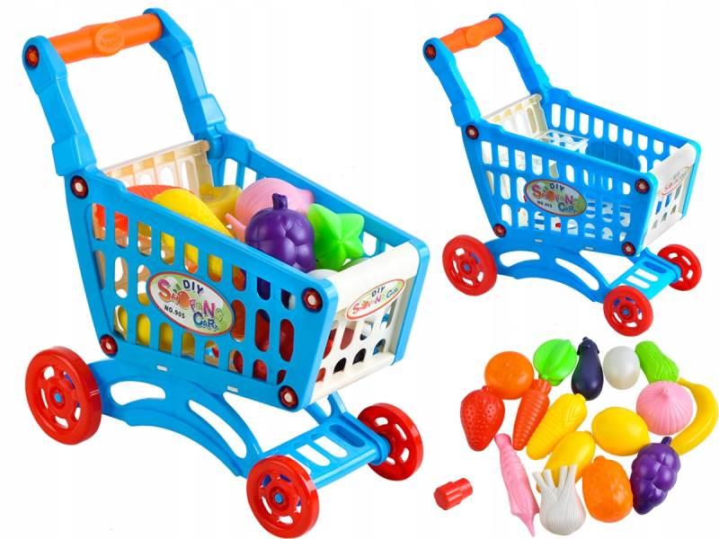 ISO 6107 Detský nákupný vozík s príslušenstvom