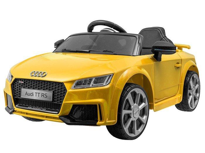 Joko PA0184 ZO Elektrické autíčko Audi TT RS žlté