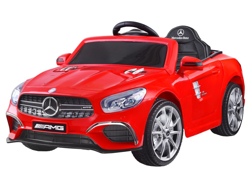 Joko PA0231 CZ Elektrické autíčko Mercedes S63 AMG červené