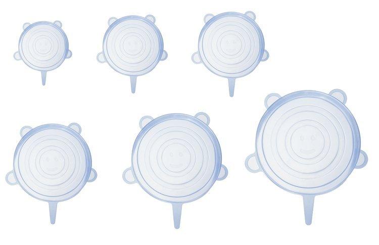 ISO Silikónová viečka na potraviny 6 ks