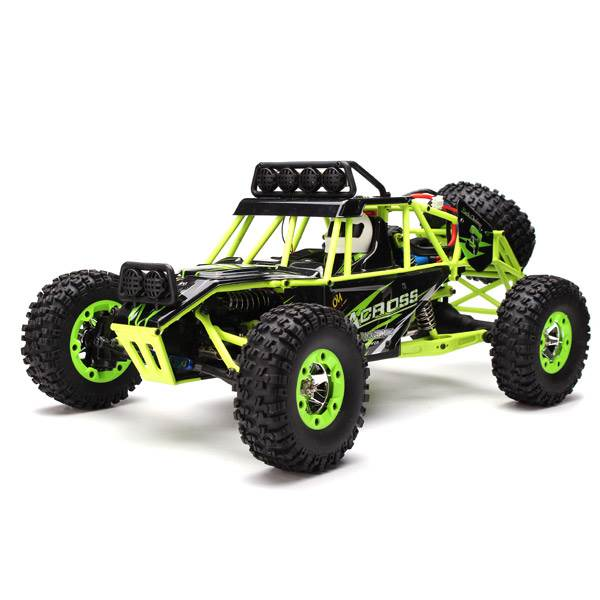 WL Toys Buggy 12428 1:12 zelená