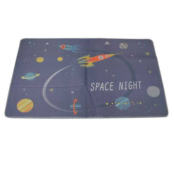 KIK Penová podložka na hranie Space Night 180 x 120 cm