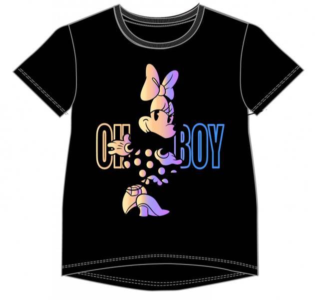 Javoli Detské tričko krátky rukáv Disney Minnie vel. 158 čierne
