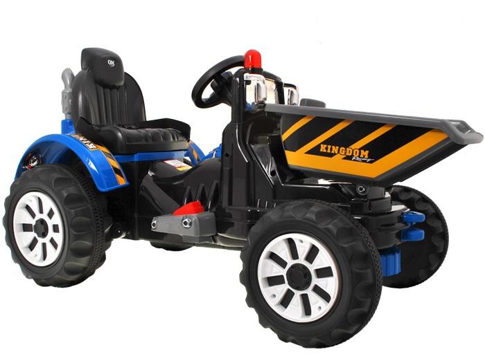 Joko Detský elektrický traktor 2 x 45W 12V modrý