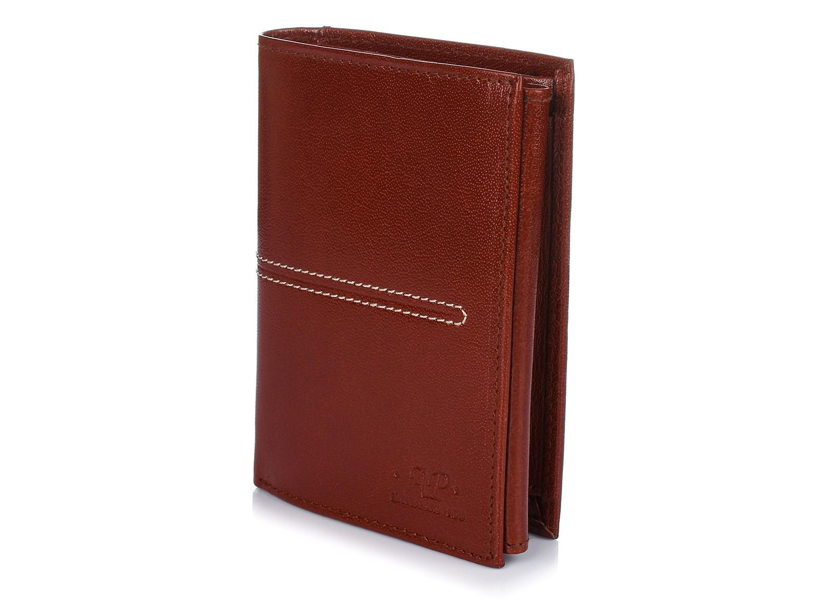 Alessandro Paoli K42 Pánska kožená peňaženka RFID hnedá