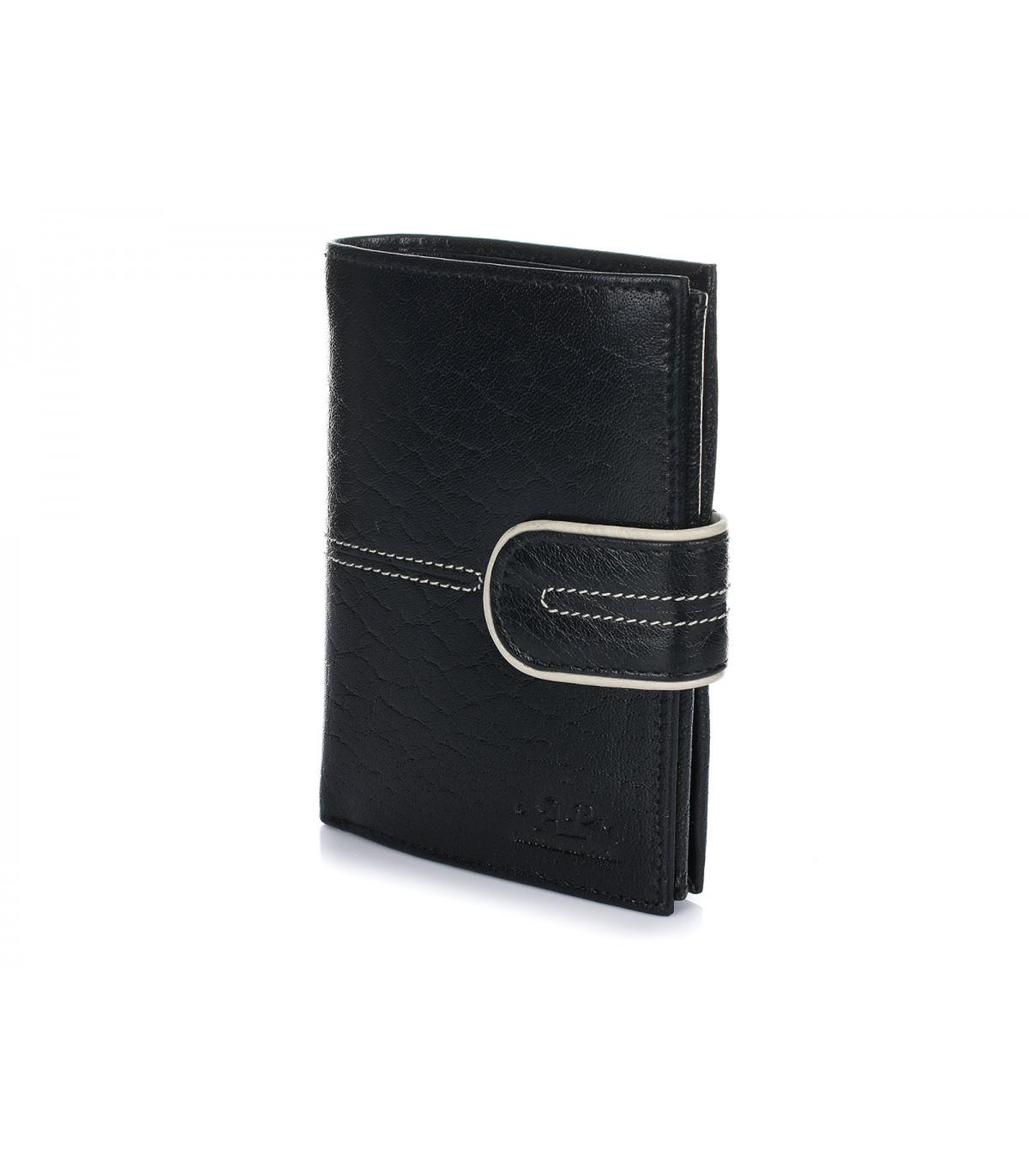 Alessandro Paoli K76 Pánska kožená peňaženka RFID čierna