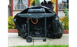 Malatec Krycí plachta na zahradní gril 173x61x125cm