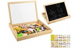 ISO 7264 Dřevěná magnetická tabulka