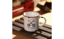 Master Porcelánový MINI retro hrneček Keys