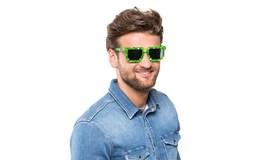 Master Pixel Brýle zelená