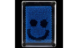 Master Odtlačky Pin art modrá