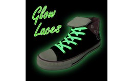 GFT Svítící tkaničky - zelené
