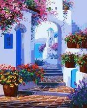 GFT Maľovanie podľa čísel Grécko