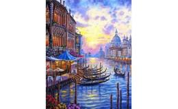 GFT Malování podle čísel Benátky