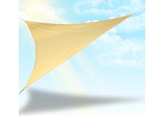 Malatec Plachta proti slnku 4 x 4 x 4 m béžová