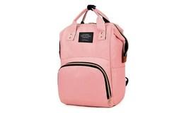 ISO 8911 Dámský městský batoh 2v1 růžová