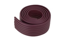 KIK Penová páska na ochranu hrán stola 8 x 1 x 200cm hnedá