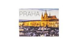 Plechový magnet Praha - hrad