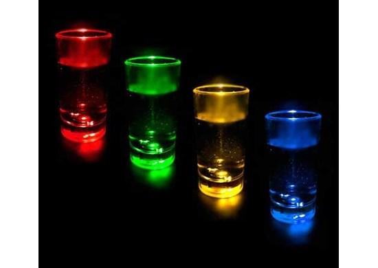 APT Svietiace LED poháre 12 Ks