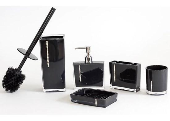 APT Kúpeľňová sada 5 kusov čierna