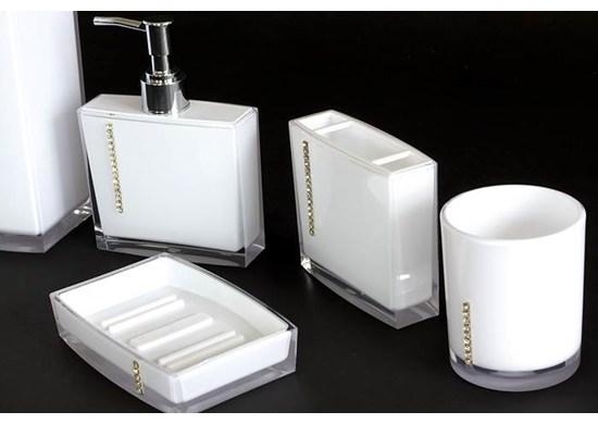 APT Kúpeľňová sada 5 kusov biela