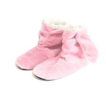 Detské papuče králik 35-40 svetlo ružové