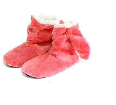 Detské papuče králik 35-40 tmavo ružová