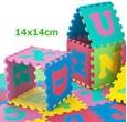 EVA Penové puzzle 14 x 14cm - 36 ks