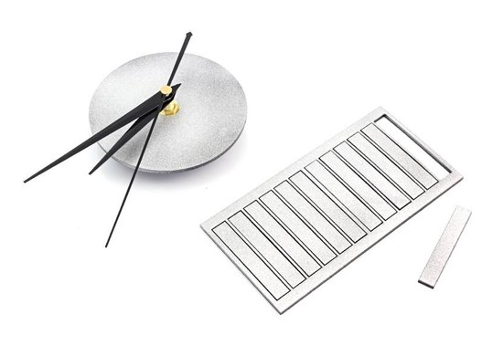 APT Dizajnové 3D nalepovacie hodiny 60cm