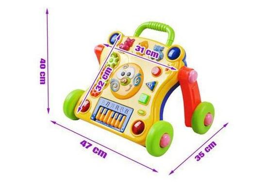 Run Li Toys Interaktívne chodítko 3v1 - bazár