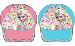 Javoli Dievčenské šiltovka Disney Frozen Elsa vel. 54 modrá