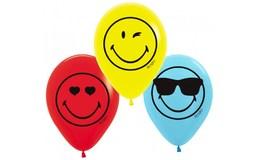Javoli Balóniky latexové Emoji 6 ks