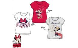 Javoli Detské tričko krátky rukáv Disney Minnie veľ. 104 biele