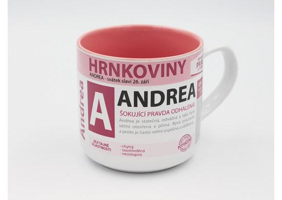 Nekupto Hrnček s menom 3 Hrnkoviny NHK 004 Andrea