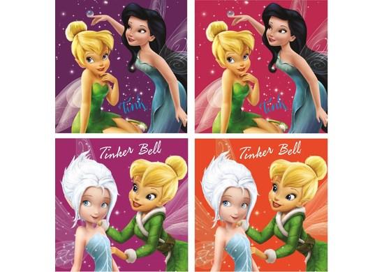 Javoli Uterák na tvár Disney Víla 30 x 30 cm 2 ks
