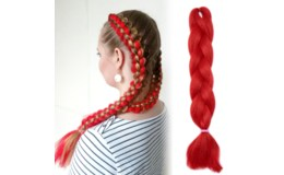 GFT Vlasový príčesok - červený
