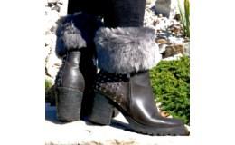 GFT Návleky na nohy - šedé