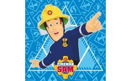 Javoli Kúzelný uteráčik Požiarnik Sam 30 x 30 cm