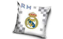 Javoli Povlak na vankúš FC Real Madrid 40 x 40 cm biely I
