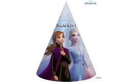 Javoli Papierová párty čiapočka Disney Frozen 6 ks II