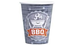 Javoli Papierové kelímky BBQ 250 ml 8 ks