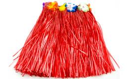 KIK Havajská sukne červená