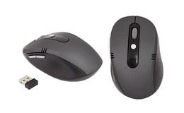 APT AK211 Bezdrôtová optická myš čierna