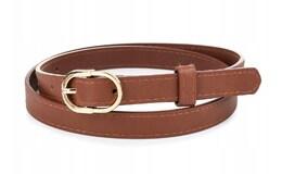 Greenwood C40 Dámsky kožený opasok 110 cm hnedý