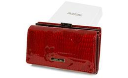 Julia Rosso T83 Dámska kožená peňaženka RFID červená