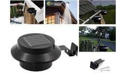 APT Nástěnná solární lampa 3 LED